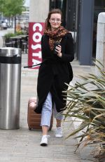 DAKOTA BLUE RICHARDS Leaves Costa Coffee in Manchester 06/21/2019