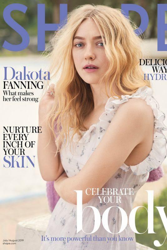 DAKOTA FANNING for Shape Magazine, July/August 2019