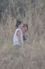 DAKOTA JOHNSON on the Set of Covers at Griffith Park in Los Angeles 06/10/2019