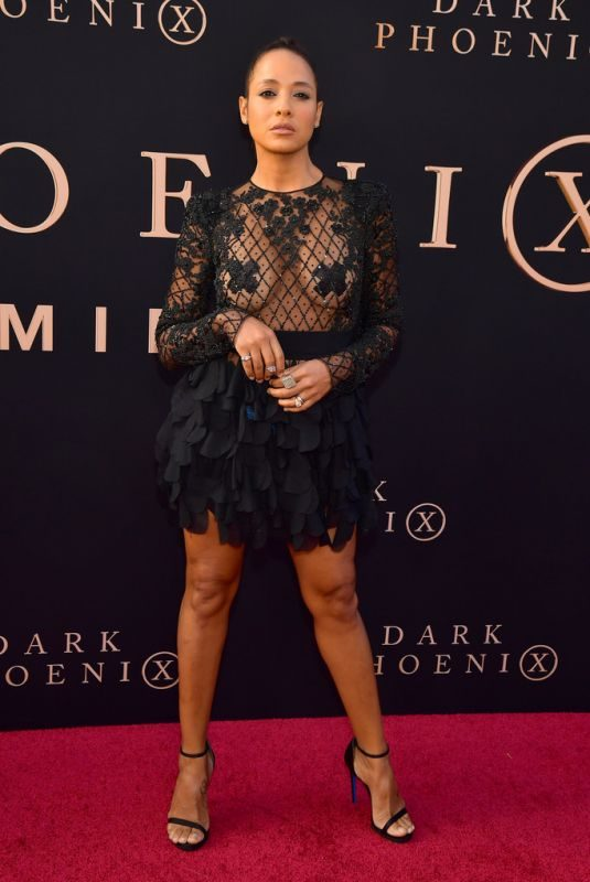 DANIA RAMIREZ at Dark Phoenix Premiere in Hollywood 06/04/2019