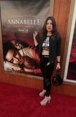 DANIELA AITA at Annabelle Comes Home Premiere in Westwood 06/20/2019