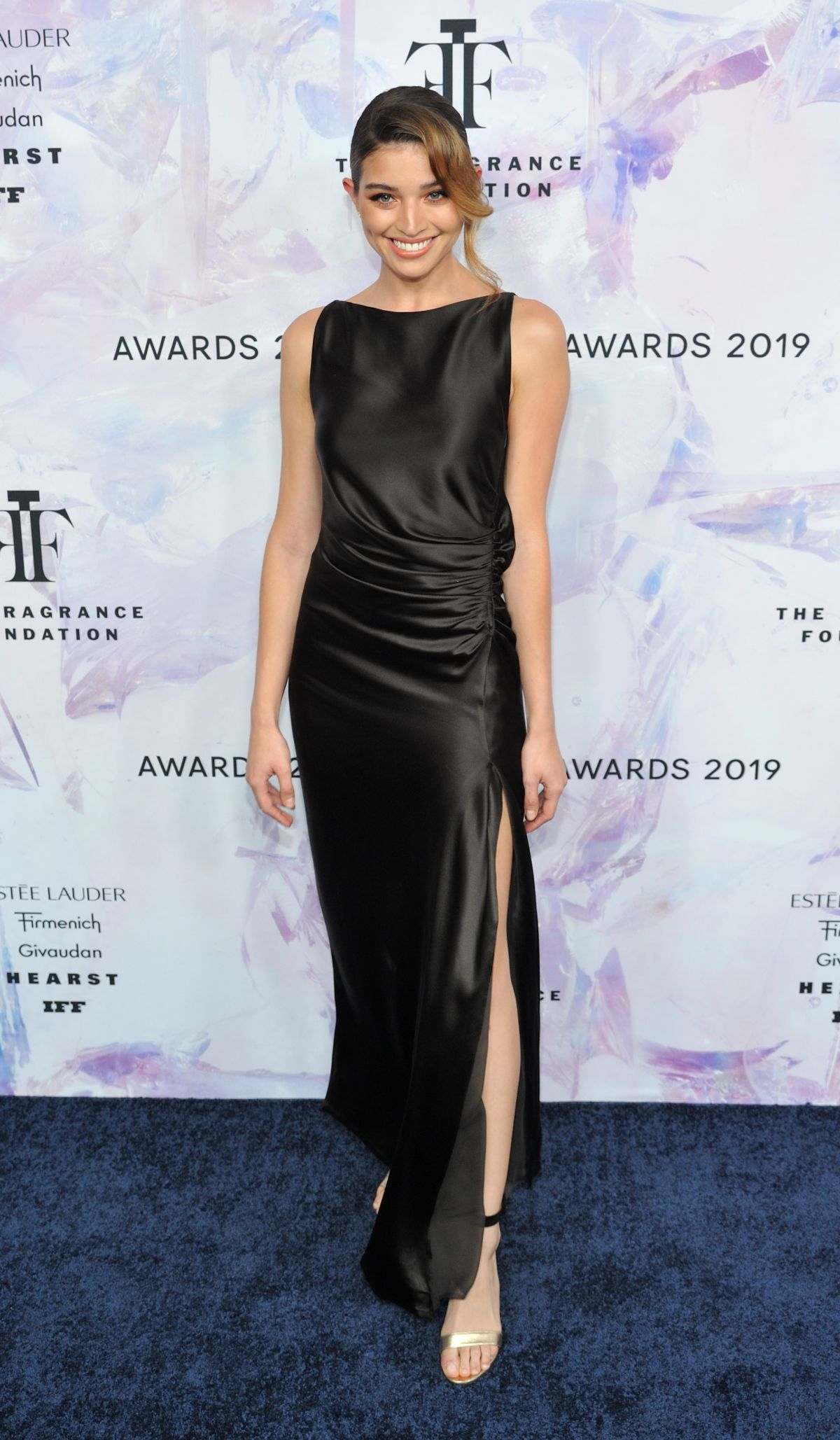 DANIELA LOPEZ OSORIO at Fragrance Foundation Awards in New