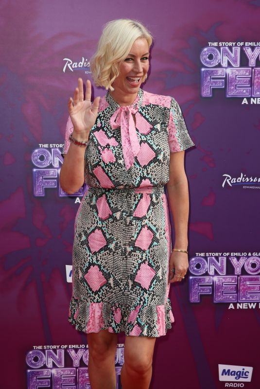 DENISE VAN OUTEN at On Your Feet! Press Night in London 06/27/2019