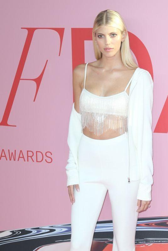 DEVON WINDSOR at CFDA Fashion Awards in New York 06/03/2019