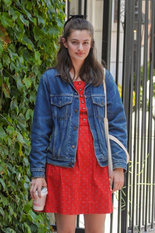 DIANA SILVERS Out for Coffee on Melrose Place 06/06/2019