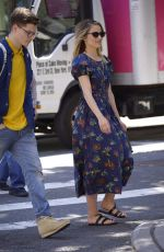 DIANNA AGRON Out in New York 06/23/2019