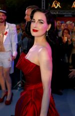 DITA VON TEESE at Life+ Solidarity Gala at Spiegelzelt in the City Hall 06/08/2019