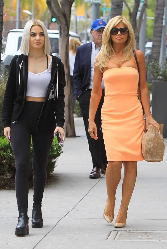 DONNA D'ERRICO and FRANKIE-JEAN SIXX Out in Los Angeles 06/21/2019