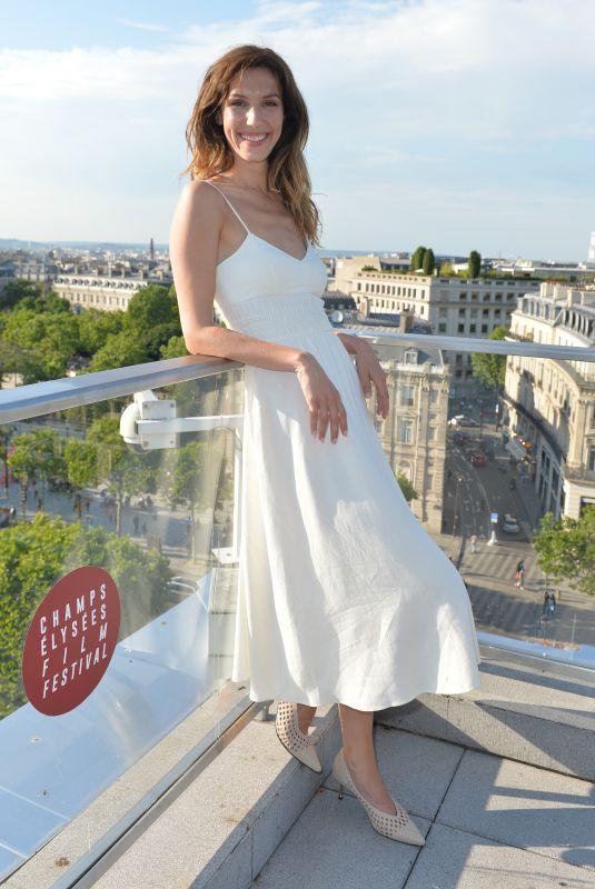 DORIA TILLIER at Champs-Elysees Film Festival Coctail Party in Paris 06/18/2019