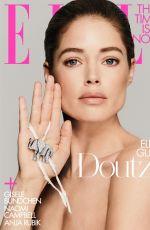 DOUTZEN KROES, NAOMI CAMPBELL, GISELE BUNDCHEN and ANJA RUBIK in Elle Magazine Conversion Issue, July 2019