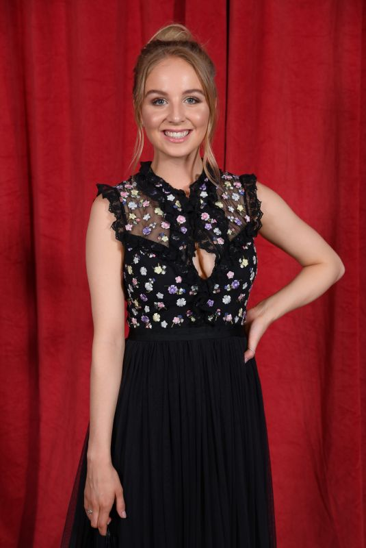 EDEN TAYLOR-DRAPER at British Soap Awards 2019 in Manchester 06/01/2019