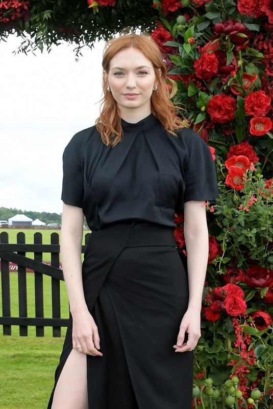 ELEANOR TOMLINSON at 2019 Cartier Queen's Cup Polo Final in Windsor 06/16/2019