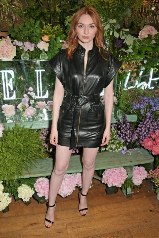 ELEANOR TOMLINSON at Elle List in Association with Magnum Ice Cream in London 06/19/2019