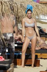 ELENA MORALI in Bikini at a Beach in Mykonos 06/20/2019