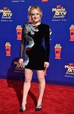 ELISABETH MOSS at 2019 MTV Movie & TV Awards in Los Angeles 06/15/2019