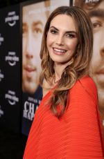 ELIZABETH CHAMBERS at Chasing Happiness Premiere in Los Angeles 06/03/2019
