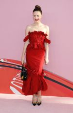 ELLA HUNT at CFDA Fashion Awards in New York 06/03/2019