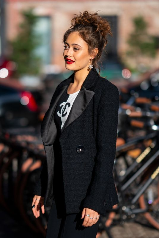 ELLA PURNELL Arrives at Sweetbitter Season 2 Premiere 06/12/2019
