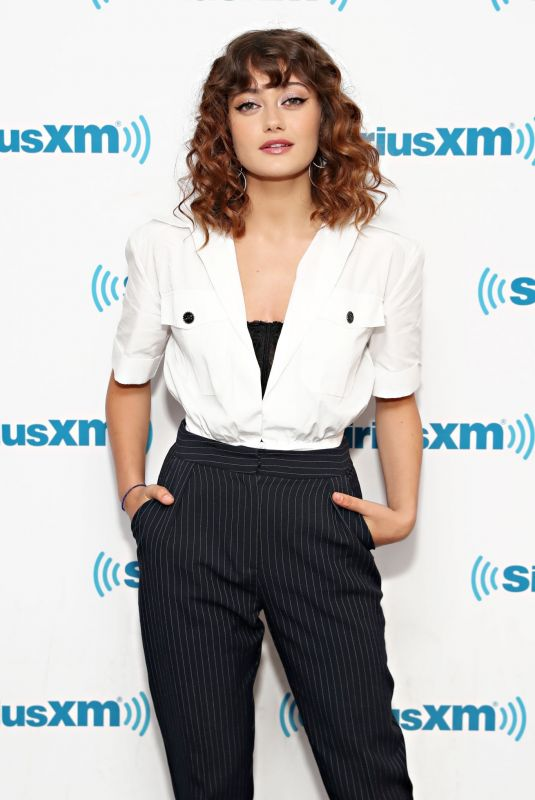 ELLA PURNELL at SiriusXM Studio in New York 06/11/2019