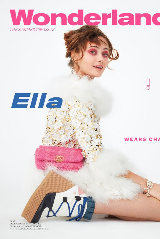 ELLA PURNELL on the Cover of Wonderland Magazine, Summer 2019