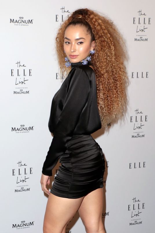 ELLE EYRE at Elle List in Association with Magnum Ice Cream in London 06/19/2019