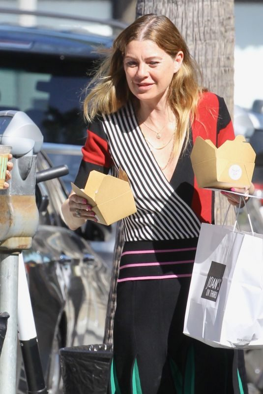 ELLEN POMPEO Out and About in Studio City 06/13/2019