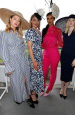 ELLIE BAMBER at Moet & Chandon Box at Royal Ascot Fashion Day in Ascot 06/19/2019