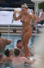 ELLIE BROWN in Bikini at Pool in Miami 06/13/2019