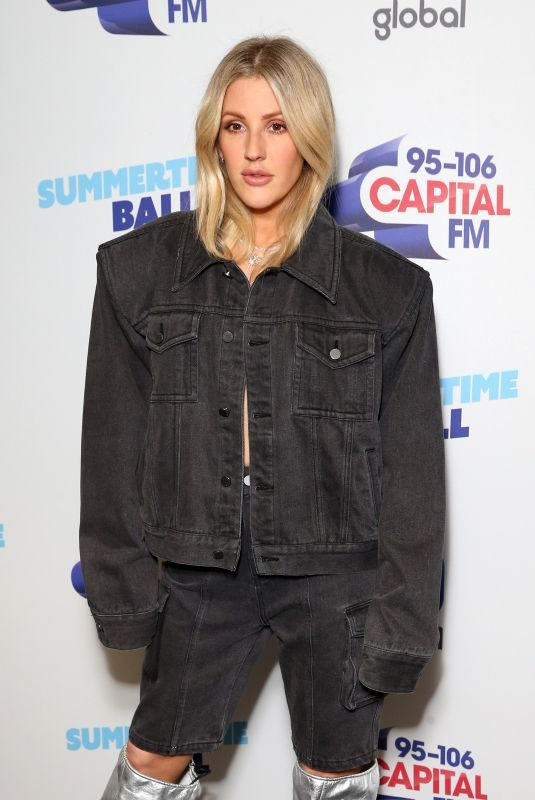 ELLIE GOULDING at Capital FM Summertime Ball 2019 at Wembley Arena in London 06/08/2019