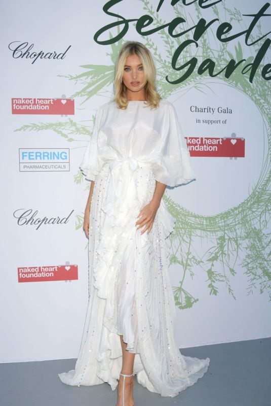ELSA HOSK at Naked Heart Foundation: The Secret Garden Charity Gala in Switzerland 06/13/2019