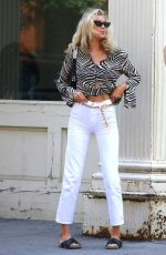 ELSA HOSK on the Set of a Photoshoot in New York 06/12/2019