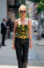 ELSA HOSK Out and About in New York 06/05/2019
