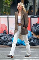 ELSA HOSK Out in New York 06/26/2019
