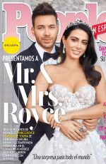 EMERAUDE TOUBIA and Prince Royce in People en Espanol Magazine, April 2019