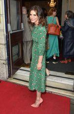 EMILIA FOX at Bitter Wheat Opening Night at Garrick Theatre in London 06/19/2019
