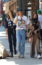 EMILY RATAJKOWSKI, KAIA GERBER and Tommy Dorfman Out in New York 06/03/2019
