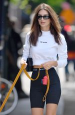 EMILY RATAJKOWSKI Out with Colombo in New York 06/12/2019