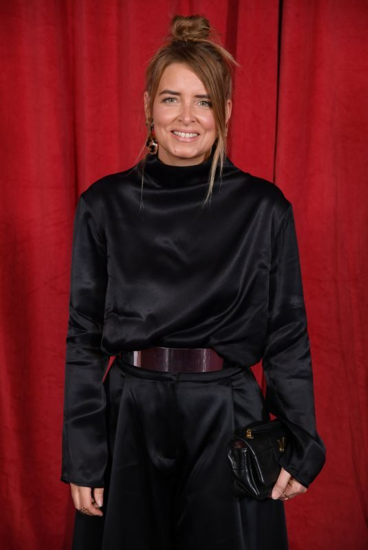 EMMA ATKINS at British Soap Awards 2019 in Manchester 06/01/2019