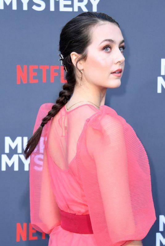 EMMA FUHRMANN at Murder Mystery Premiere in Los Angeles 06/10/2019