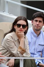 EMMA MACKEY at 2019 French Tennis Open at Roland Garros in Paris 06/08/2019