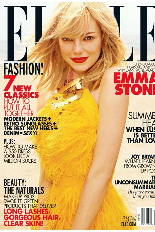 EMMA STONE for Elle Magazine, July 2011