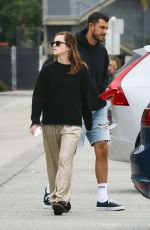 EMMA WATSON and an Friend from Brown University Out in Venice Beach 06/12/2019