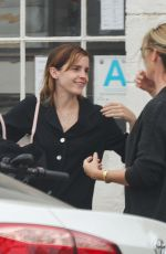 EMMA WATSON Out for Coffee in Venice Beach 06/16/2019
