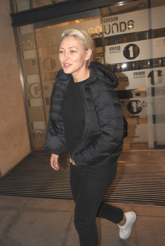 EMMA WILLIS Leaves The One Show in London 06/10/2019