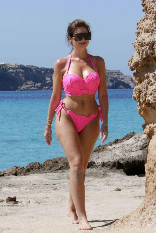 ESTER DEE in Bikini at a Beach in Ibiza 06/03/2019