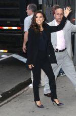 EVA LONGORIA Arrives at Good Morning America in New York 06/17/2019