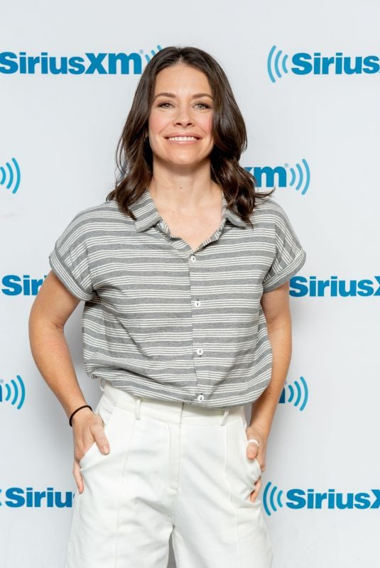 EVANGELINE LILLY at SiriusXM Studios in New York 06/04/2019