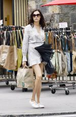 FAMKE JANSSEN Shopping at Wholefoods in New York 06/16/2019