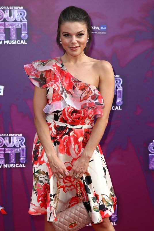 FAYE BROOKES at On Your Feet! Press Night in London 06/27/2019