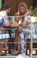 FILIPPA LAGERBACK and Her Gaughter STELLA BOSARRI Out in Portofino 06/26/2019